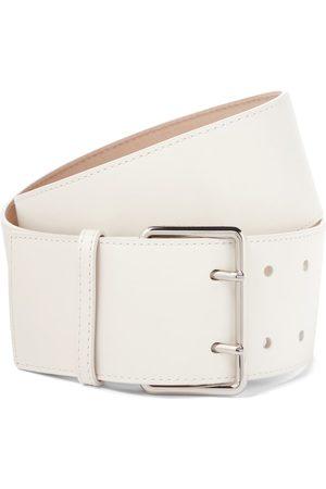 Alexander McQueen Cintura in pelle