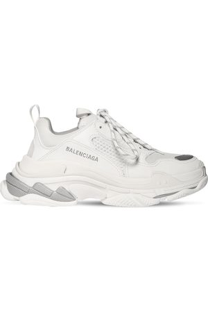 """Balenciaga Donna Sneakers - Sneakers """"triple S"""" In Ecopelle 60mm"""
