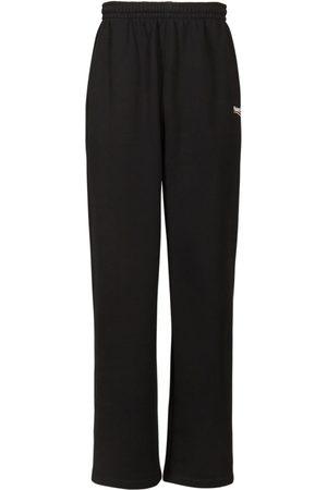 Balenciaga Uomo Felpe - Pantaloni In Felpa Di Cotone Con Logo