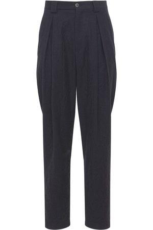 Armani Pantaloni In Lana Vergine 17cm
