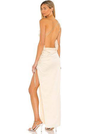Lovers + Friends Donna Vestiti - Maegan Gown in - Metallic Gold. Size L (also in XXS, XS, S, M, XL).