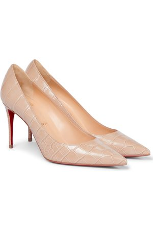 Christian Louboutin Pumps Kate 85 in pelle stampata
