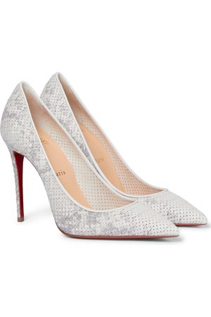 Christian Louboutin Pumps Kate 100 in pelle stampata