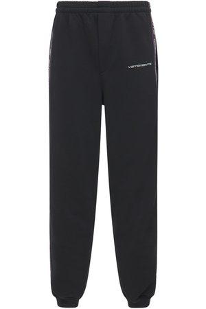 Vetements Pantaloni In Felpa Di Misto Cotone