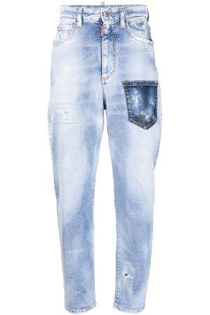 Dsquared2 Jeans affusolati con effetto vissuto