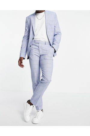 ASOS Pantaloni da abito super skinny in tessuto a quadri Principe di Galles