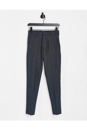 ASOS Pantaloni eleganti super skinny navy puntinati