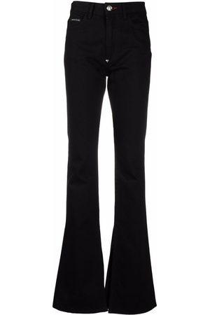 Philipp Plein Donna A zampa & Bootcut - Jeans svasati a vita alta