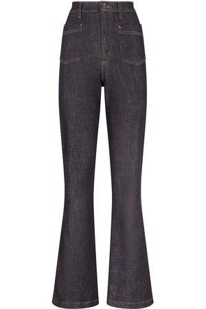 Dolce & Gabbana Jeans svasati a vita alta