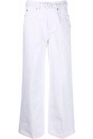 VALENTINO Jeans a gamba ampia VLogo con cintura
