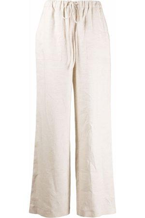 12 STOREEZ Donna Pantaloni a palazzo - Pantaloni a palazzo - Toni neutri