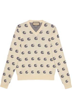 Gucci Uomo Felpe - Maglione con effetto jacquard GG