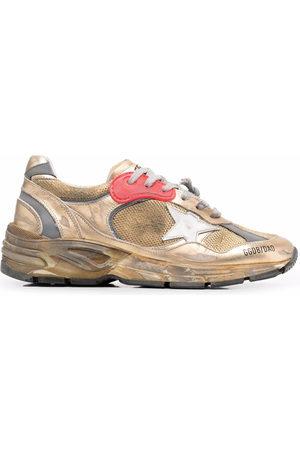 Golden Goose Donna Scarpe sportive - Sneakers Running Sole con effetto vissuto