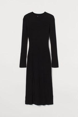 H&M Donna Vestiti lunghi - Abito con spacco davanti