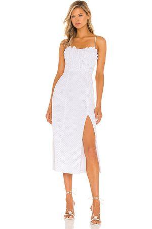 MAJORELLE Donna Vestiti longuette - Harper Midi Dress in - . Size L (also in XXS, XS, S, M, XL).