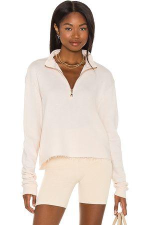 Michael Lauren David Half Zip Pullover in - Pink. Size L (also in XS, S, M).