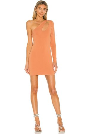 Lovers + Friends Johnson Mini Dress in - Tan. Size L (also in XS, S, M, XL).