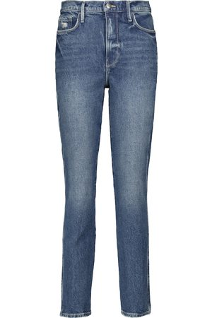 Frame Jeans slim Le Garçon a vita media