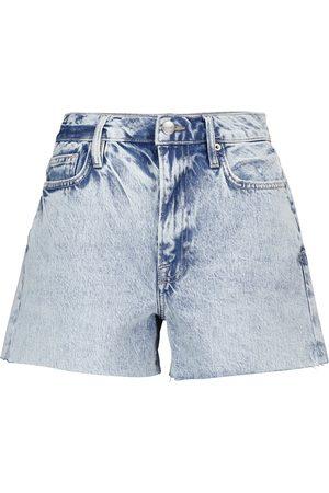 Frame Shorts di jeans Le Simone a vita alta