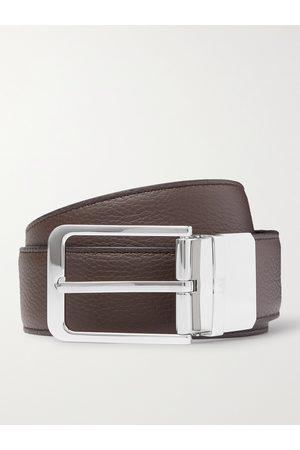 Dunhill Uomo Cinture - 3.5cm Reversible Full-Grain Leather Belt