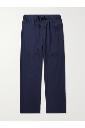 Tekla Organic Cotton-Poplin Pyjama Trousers