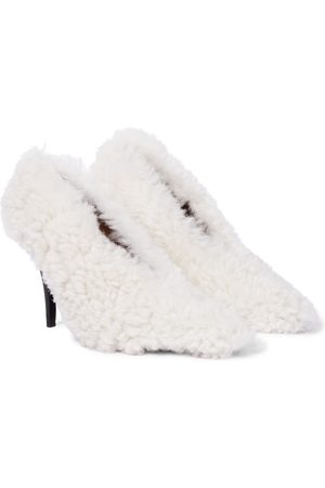 Marni Décolleté in shearling