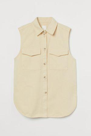 H&M Donna Gilet - Giacca-camicia senza maniche