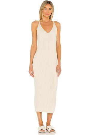 Weekend Stories Donna Vestiti - Lisbeth Dress in - Nude. Size L (also in XXS, XS, S, M, XL).