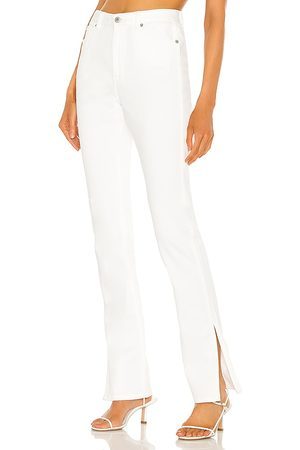 Something Navy Nina Denim Pants with Slit in - . Size 0 (also in 00, 6, 2, 4, 8, 10).