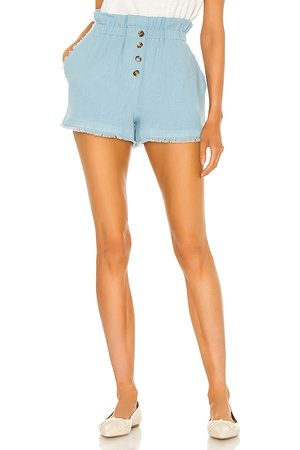 Something Navy Donna Pantaloncini - Ryan Paperbag Shorts in - . Size L (also in S, XS, M).