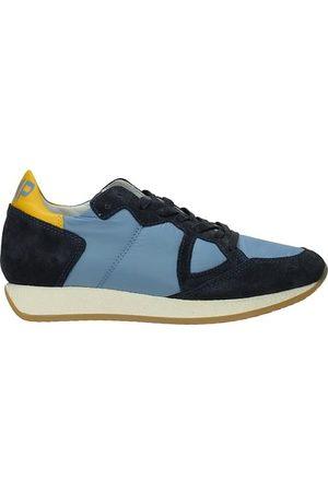 Philippe model Sneakers monaco Donna Camoscio Acciaio
