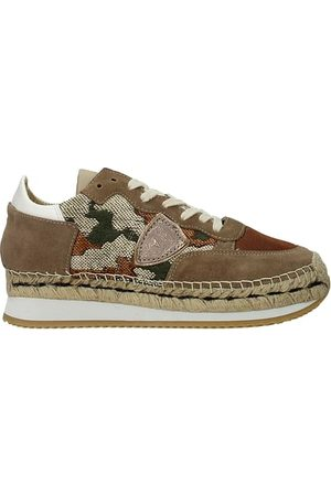 Philippe model Donna Sneakers - Sneakers saint tropez Donna Tessuto Beige