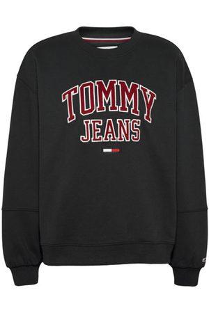 Tommy Jeans Donna Felpe - TJW Collegiate Logo Crew - felpa - donna. Taglia M