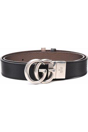 Gucci Cintura GG Marmont reversibile