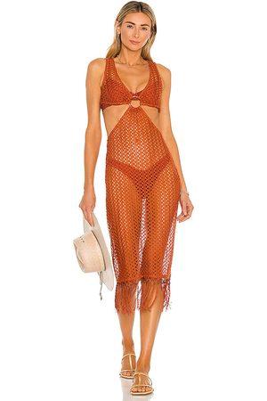 Camila Coelho Donna Vestiti longuette - Landry Midi Dress in - . Size L (also in XXS, XS, S, M, XL).