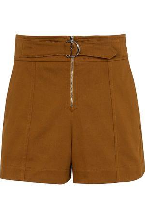 Chloé Shorts a vita alta in cotone