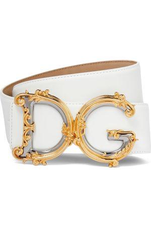 Dolce & Gabbana Cintura DG in pelle