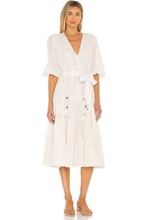 Karina Grimaldi X REVOLVE Soraya Midi Dress in - . Size L (also in XS, S, M).