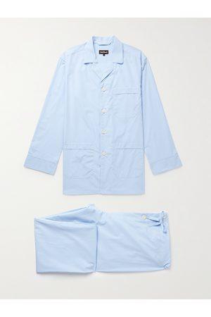 Paul Stuart Gingham Cotton-Poplin Pyjama Set