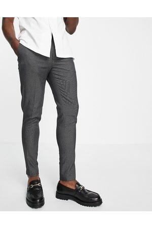 ASOS Pantaloni eleganti super skinny grigi