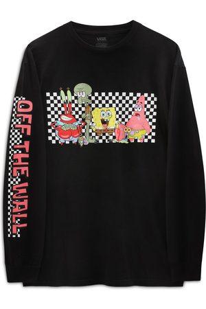 Vans X Spongebob - Maglietta nera a maniche lunghe con personaggi