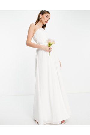 Little Mistress Bridal - Vestito da sposa lungo monospalla
