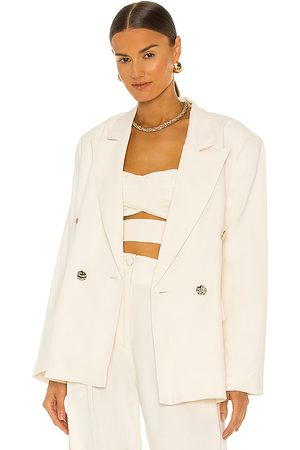 Sabina Musayev Henry Jacket in - White. Size L (also in XS, S, M).