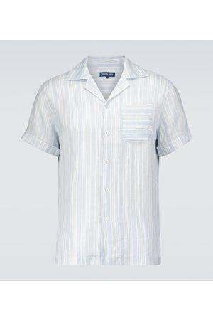 Frescobol Carioca Uomo Camicie a maniche corte - Camicia in cotone a righe
