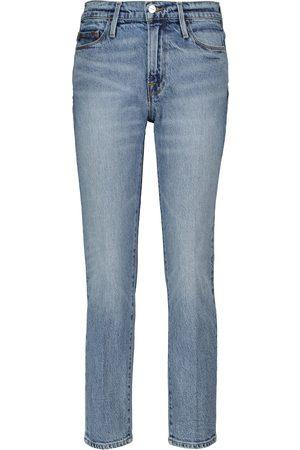 Frame Jeans slim Le Noveau a vita alta