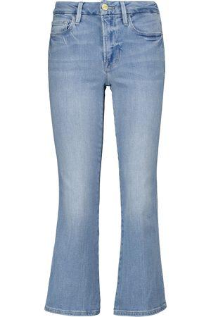 FRAME Jeans Le Crop Mini Boot a vita media