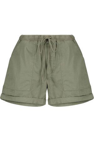 Velvet Donna Pantaloncini - Shorts Tenley in twill di cotone