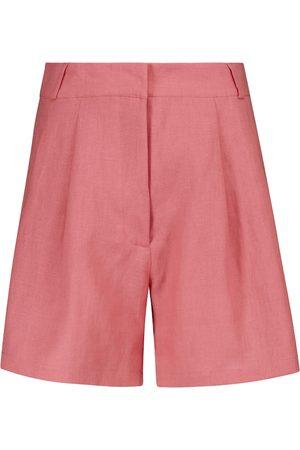ASCENO Donna Pantaloncini - Shorts Madrid in lino