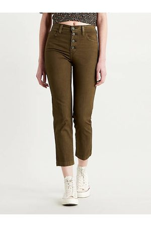 Levi's 724™ High Waisted Crop Jeans / Olive Night