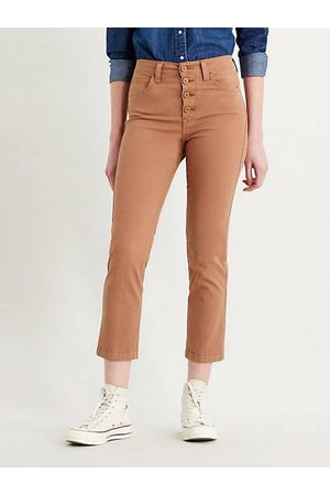 Levi's 724™ High Waisted Crop Jeans / Coconut